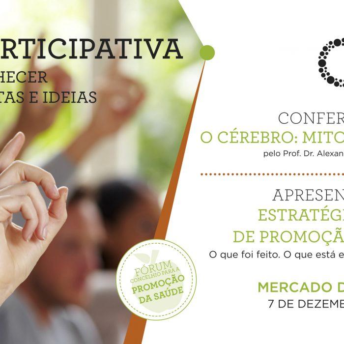 Saúde Participativa – Plenário Local de Promoção da Saúde