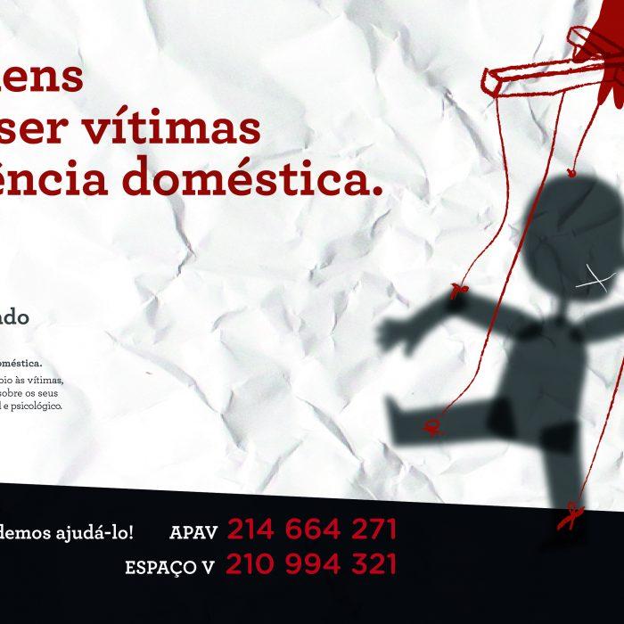 Quando os homens são as vítimas: Cascais lança campanha contra a violência doméstica