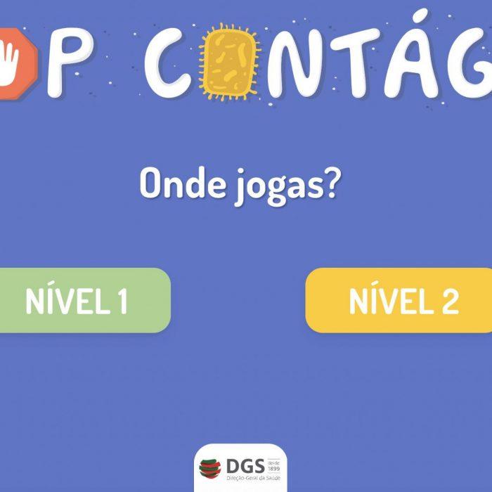 """COVID-19: """"Stop Contágio"""" um jogo para entreter e saber mais sobre o novo coronavirus"""