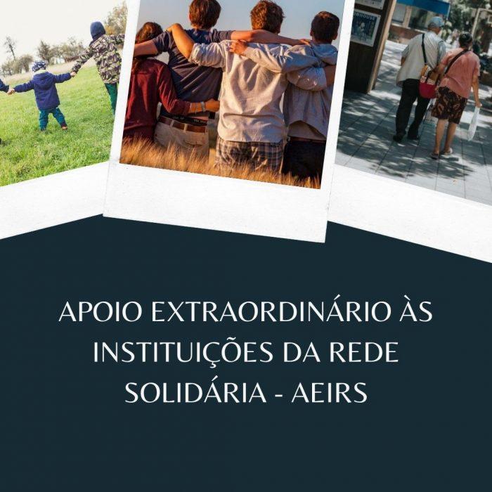 Município de Cascais lançou o programa de Apoio Extraordinário às Instituições da Rede Solidária – AEIRS