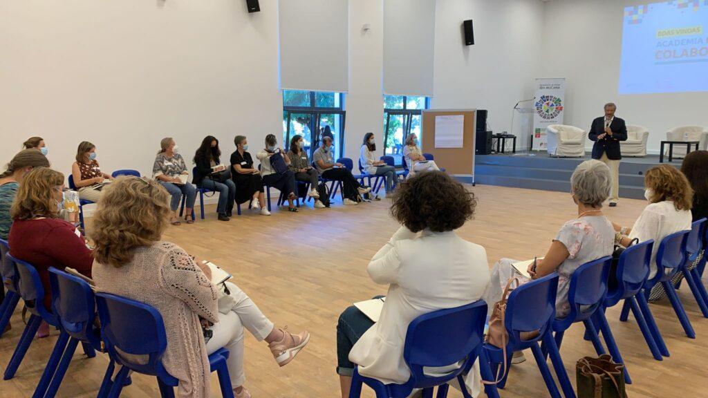 auditório Ibn Mucana com formandos